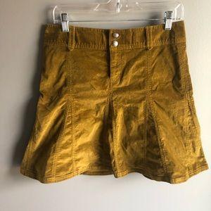 Athleta Velvet Midi Skirt
